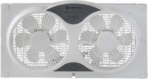 Comfort Zone fan for window