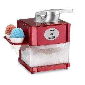 Cuisinart SCM-10P1 Snow Cone Maker, One Size, Red