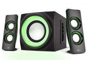 The Perfect Gaming, Movie, Party, Multimedia 2.1 Subwoofer Speaker System
