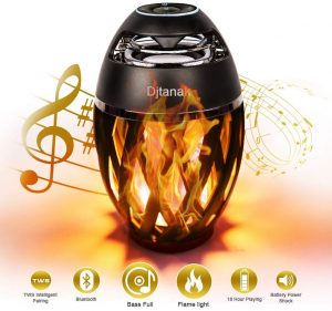 outdoor flame speaker