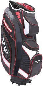 EG EAGOLE Eagole Super Light Golf Cart Bag,14 Way Top and Full Length Divider