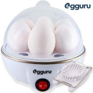 Egguru Electric Egg Cooker Boiler Maker Soft, Medium or Hard Boil