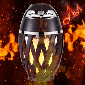 led flame speaker pairing
