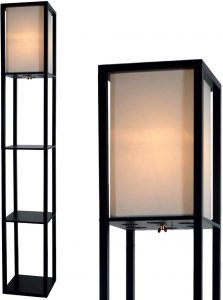 Floor Lamp with Shelves by Light Accents