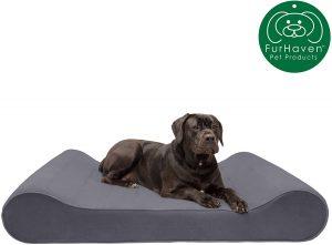 Furhaven Pet Dog Bed Orthopedic Ergonomicluxe lounger cradle mattress