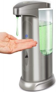 Hanamichi Soap Dispenser, Touchless High Capacity Automatic Soap Dispenser Equipped