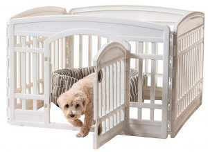 "IRIS 24"" Exercise playpen Panels for Dog"