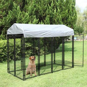large dog enclosures outdoor