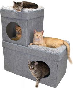 Stackable Cat Cube House