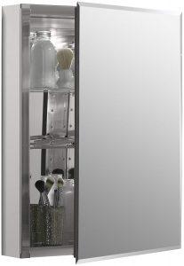 Kohler K-Cb-Clc2026Fs Frameless 20 Inch X 26 Inch Aluminum Bathroom Medicine Cabinet