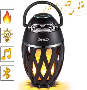 LED flaming Bluetooth Speaker by Benzzo