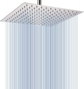 Large Rainfall Shower Head Wall Mounted
