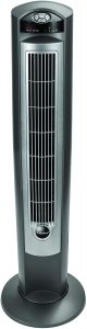 Lasko T42951 Wind Curve Portable Electric Oscillating Stand Up Tower Fan with Remote Control for Indoor
