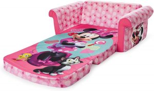 Marshmallow Furniture, Children's 2 in 1 Flip Open Foam Sofa