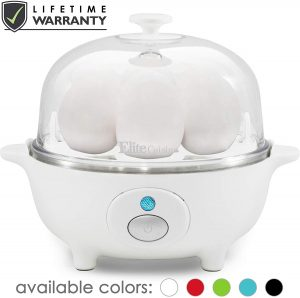 Maxi-Matic EGC-007 Easy Electric Egg Poacher, Omelet, Scrambled, Soft, Medium, Hard-Boiled Boiler Cooker with Auto Shut-Off