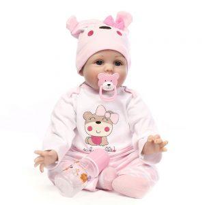 Minidiva Reborn Baby Dolls 22 inch | solid silicone baby doll for sale | cheap silicone baby doll
