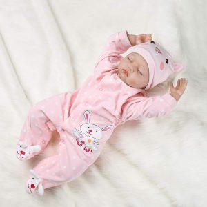 "PENSON & CO. 22"" Reborn Newborn Baby Doll | Realistic Lifelike Handmade silicone baby doll"