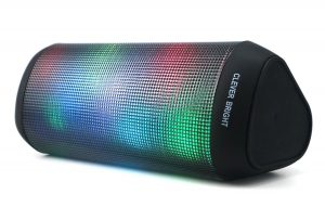 7 Patterns Visual Wireless Speaker V4.1 HD Bass Powerful Sound Built-in Microphone