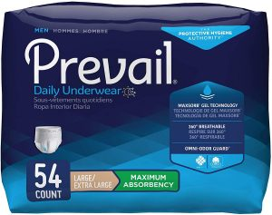 Prevail Maximum Absorbency Incontinence Underwear for Men