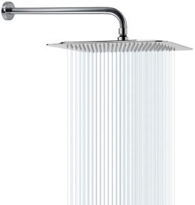 Rain Shower Head With Extension Arm