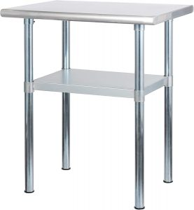stainless steel table manufacturers