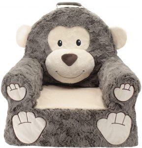 Premium Monkey Children's Plush Chair
