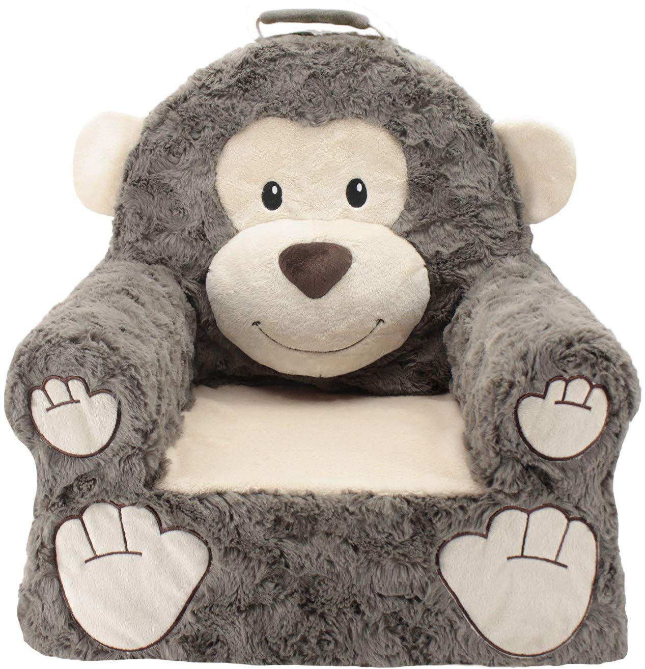 Premium Monkey Children's Plush Chair