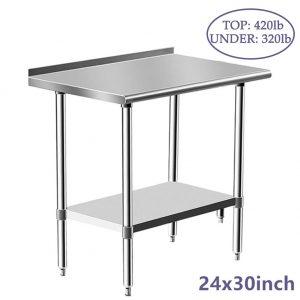 custom stainless steel table top