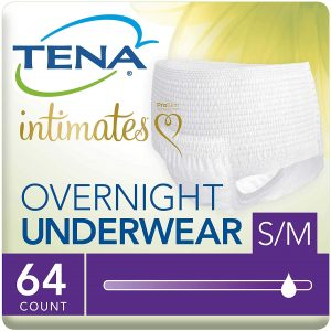 Tena Intimates Incontinence Underwear For Women, Overnight Lie Down Protection