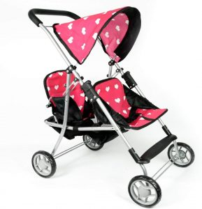 baby doll stroller and crib