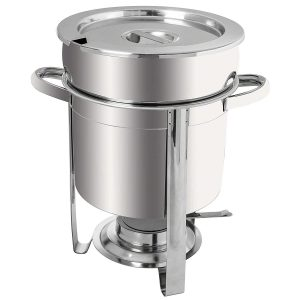 Tiger Chef 7 Qt. Soup Chafer Stainless Steel
