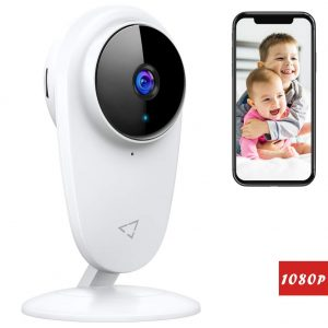Victure 1080P FHD Baby Monitor Pet Camera 2.4G Wireless