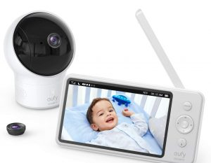 Video Baby Monitor, eufy Security Video Baby Monitor with Camera and Audio