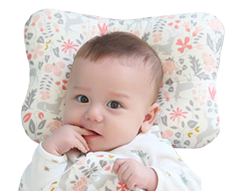 W WelLifes Baby Pillow for Newborn Breathable 3D Air Mesh Organic Cotton