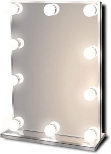 Waneway Hollywood Lighted Vanity Makeup Mirror with Bright LED Lights