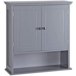 Medicine Cabinet with Adjustable Shelf Double Door Over The Toilet