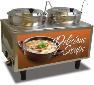 Commercial Electric Soup Station Warmer