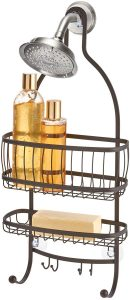 iDesign York Metal Wire Hanging Shower Caddy