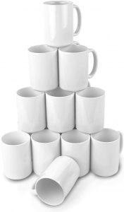 Ceramic Sublimation Blank Mugs