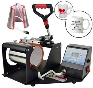 2 in 1 Digital Heat Press Machine Heat Transfer Sublimation Print MachineMug