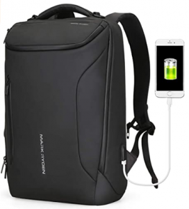 Business Bags for men with USB Charging Port