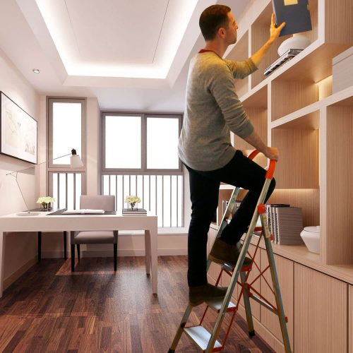 4-Step-Stool-Ladder-Portable-Folding-Anti-Slip-with-Rubber-Hand-Grip-330lbs-CapacitySilver-Household-Stepladders
