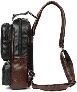 men's canvas sling bags
