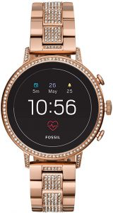 Fossil Women's Gen 4 Venture HR Stainless Steel Touchscreen Smartwatch