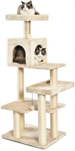 AmazonBasics Multi-Level Cat Tree | cat tree house that looks like a tree