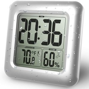 BALDR Digital Bathroom Shower Clock,