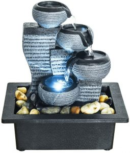 Portable Waterfall Tabletop Fountains