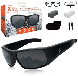 Bear Grylls Waterproof Action Camera Glasses (BG-GLS-1)