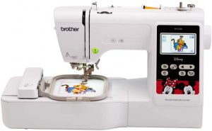 Brother Machine, PE550D, 125 Built including 45 Disney Designs 9 Font Styles