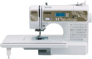 computerized industrial sewing machine
